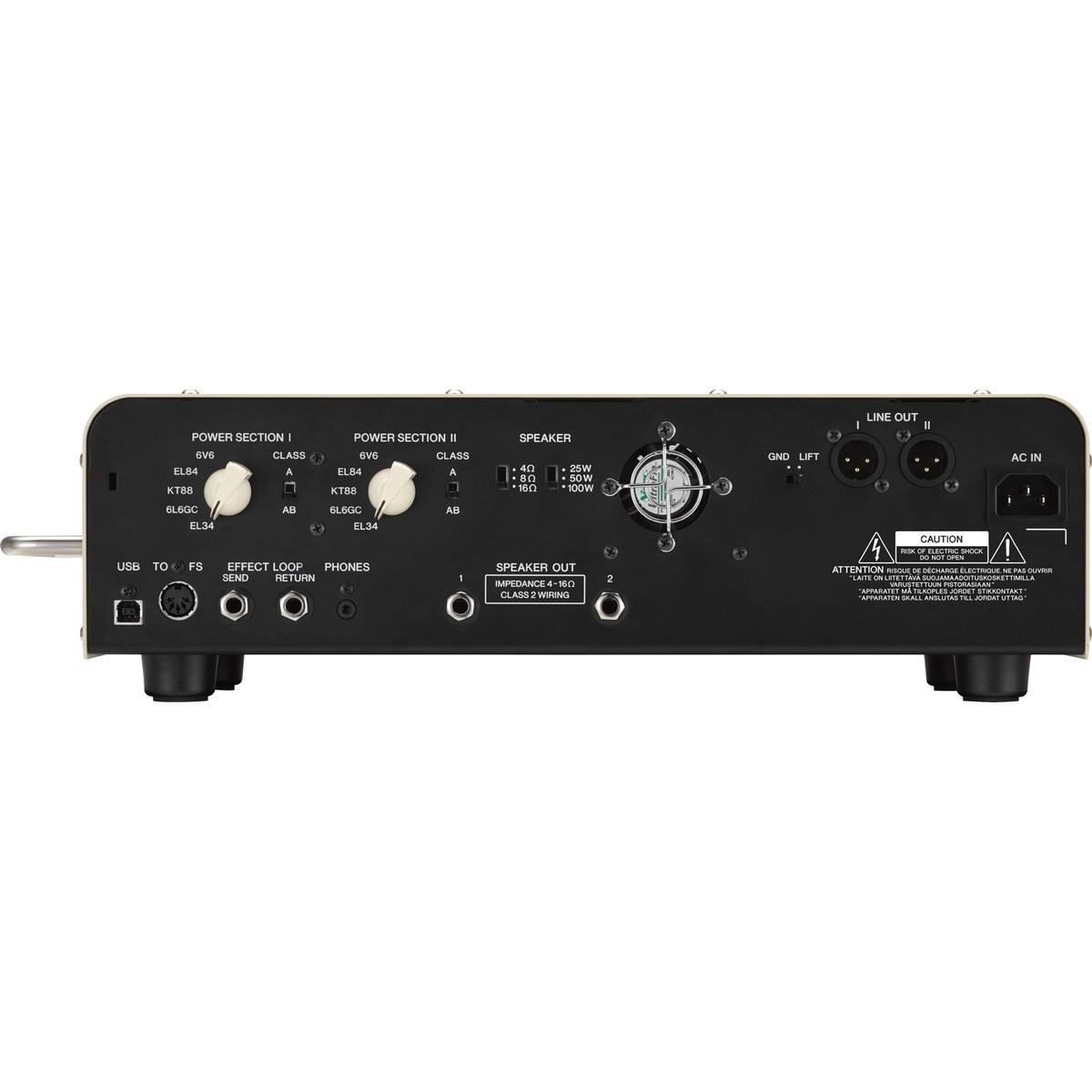 Yamaha thr100hd dual amp head at for Yamaha bass guitar amplifier