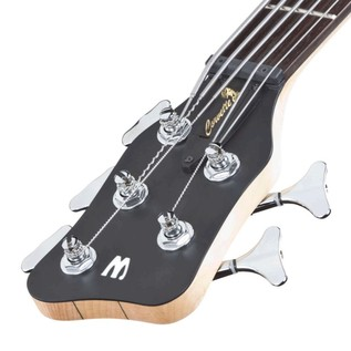 Warwick Rockbass Corvette Left Handed 5-String Bass, Natural Satin