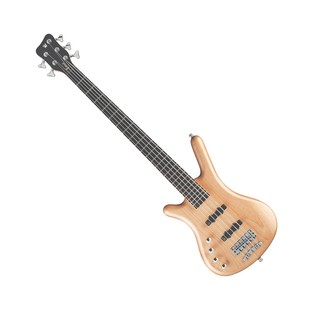 Warwick Rockbass Corvette Left Handed 5 Bass, Medium, Natural Satin