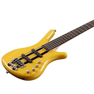 Warwick Rockbass Corvette Basic 5-String Bass, Racing Yellow