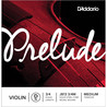 D ' Addario    Prelude Violine D String 3/4-Scale, Medium Tension