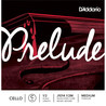 D'Addario Prelude Cello C String 1/2 Scale Medium Tension