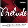 D'Addario Prelude Violin G String 3/4 Scale, Medium Tension