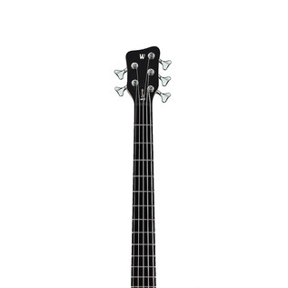 Warwick Rockbass Corvette Basic Left Handed 5-String Bass, Black
