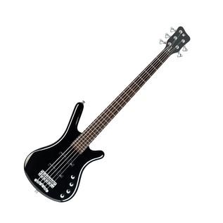 Warwick Rockbass Corvette Basic 5-String Bass, Black High Polish