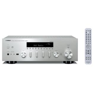 Yamaha RN602 Hi-Fi Network Receiver with MusicCast, Silver