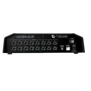 Cymatic Audio LP-16 Live Player - Rear View