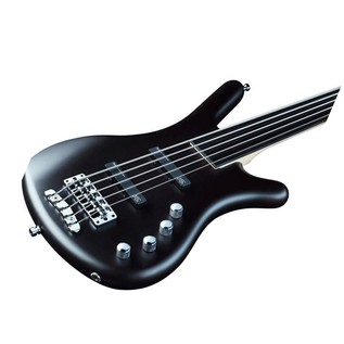 Warwick Rockbass Corvette Basic 5-String Bass, Fretless, Black