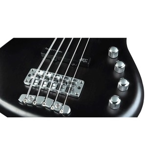 Warwick Rockbass Corvette Basic 5-String Bass, Fretless, Black