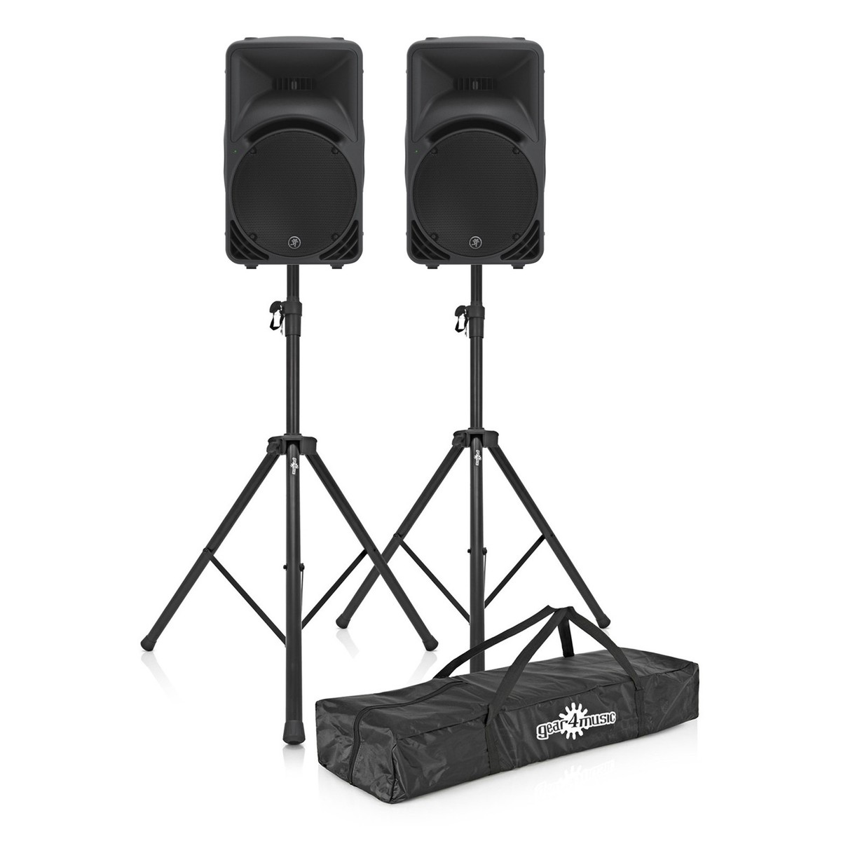 Click to view product details and reviews for Mackie Srm450 V3 Active Pa Speaker Pair With Free Stands.