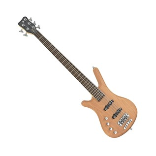 Warwick Rockbass Corvette Left Handed 5-String Bass, Medium, Natural
