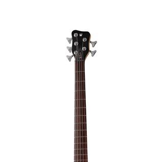 Warwick Rockbass Corvette Basic 5-String Bass, Racing White