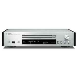 Yamaha CDNT670D Network CD Player with MusicCast, Silver