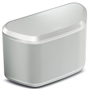 Yamaha WX030 Wireless Bluetooth Speaker with MusicCast, Silver