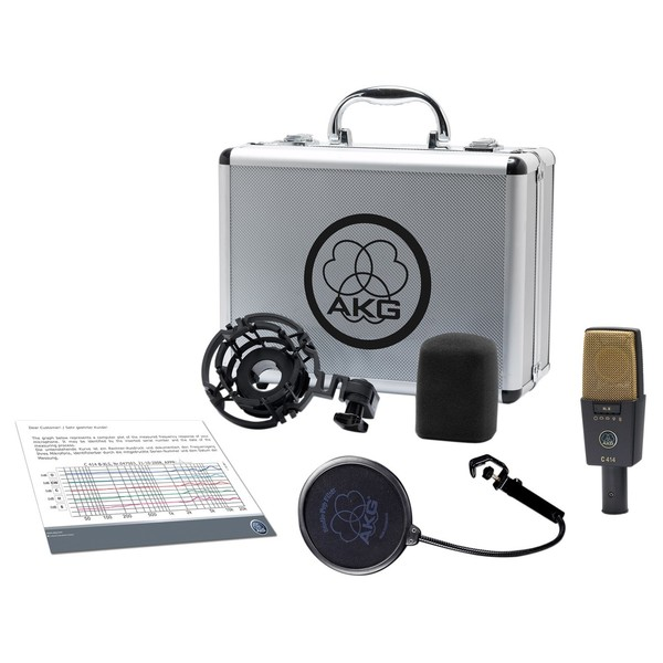 C414XL II Condenser Microphone - Full Contents