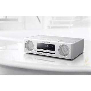 Yamaha TSXB235D Desktop Micro Hi-Fi System with Bluetooth, White