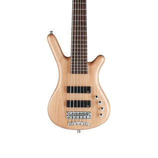 Warwick Rockbass Corvette Basic 6-String Bass, Natural Satin