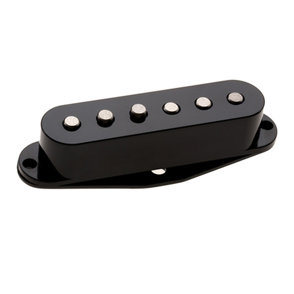 New DiMarzio DP409 Virtual Vintage Heavy Blues 2 Strat Pickup Black Made in USA