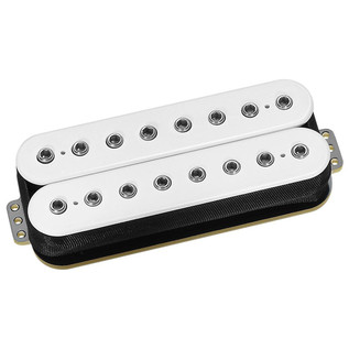 DiMarzio DP859 PAF 8 String Humbucker Guitar Pickup, White