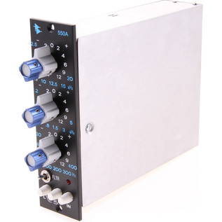 API 550A Discrete 3 Band EQ - Side View