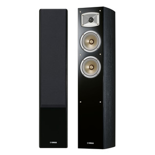 Yamaha NSF330 Floor Standing Speakers, Black