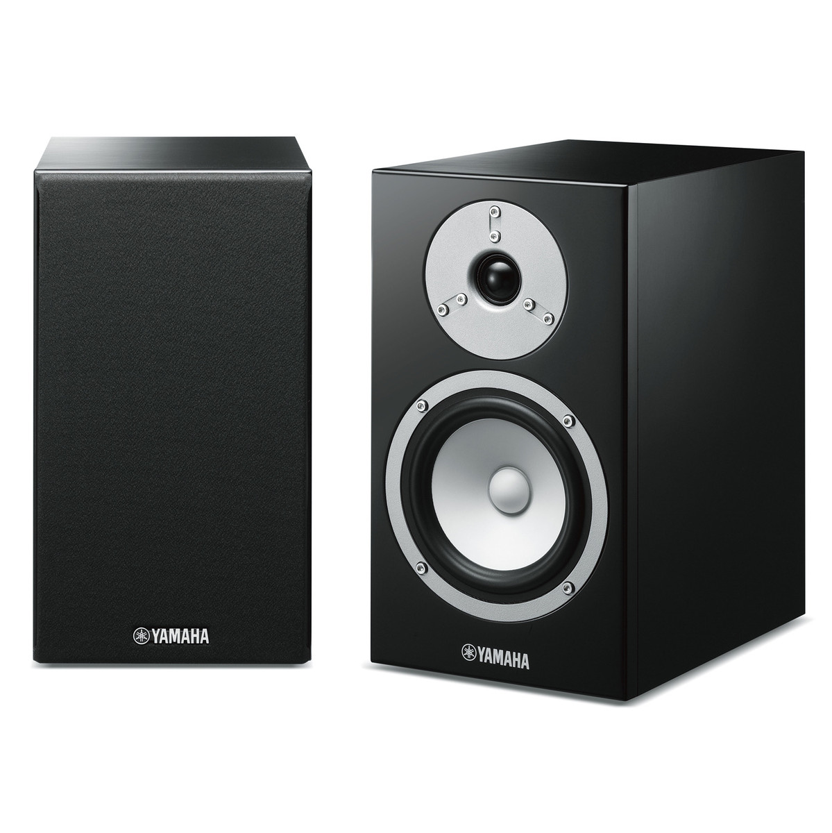 yamaha nsbp301 hi fi speakers piano black at