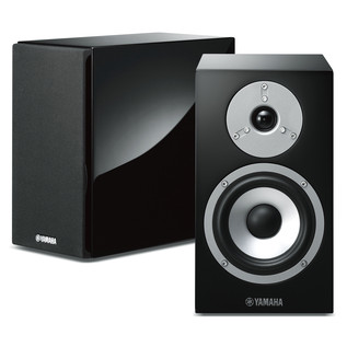 Yamaha NSBP401 Hi-Fi Speakers, Piano Black
