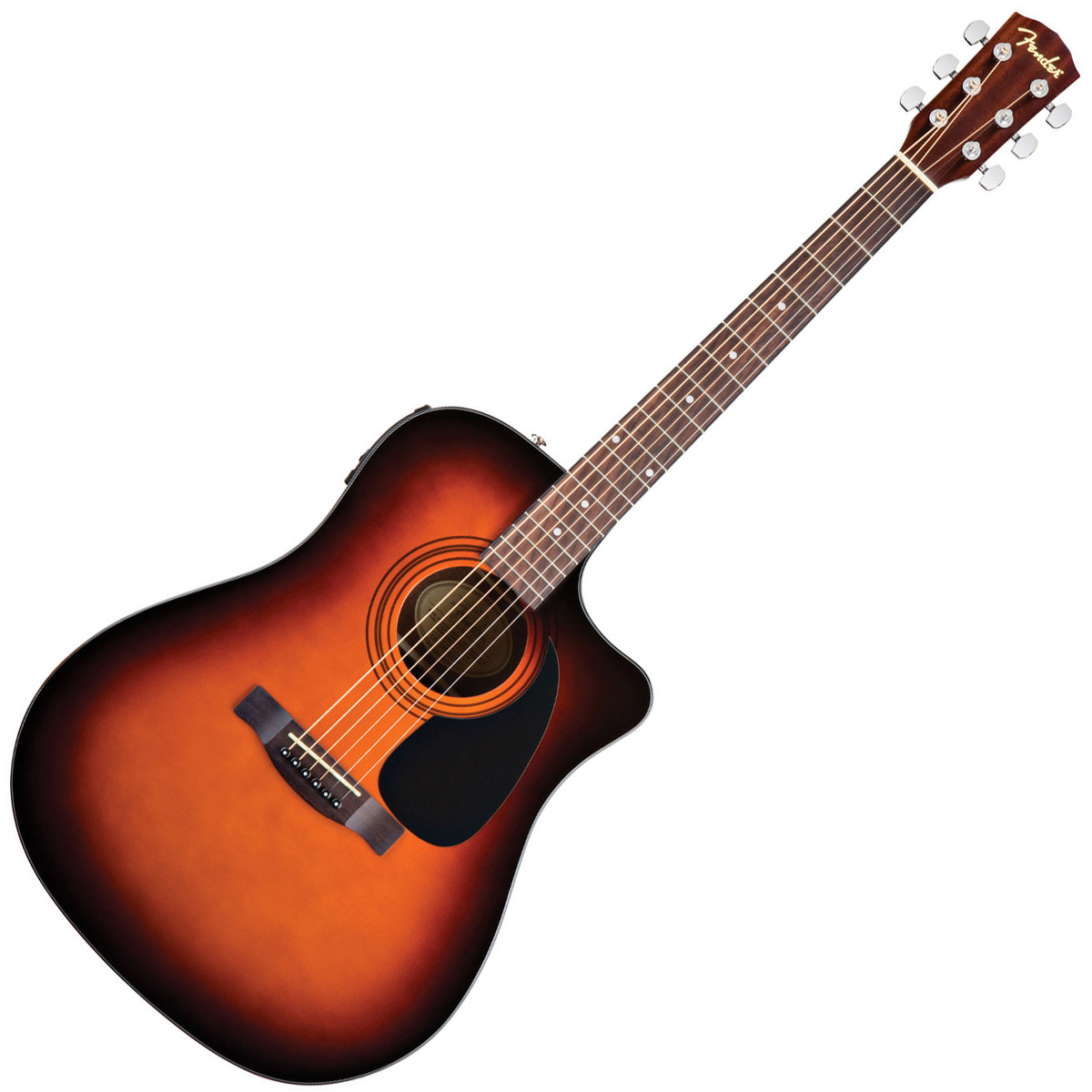 fender cd 60ce guitare electro acoustique sunburst. Black Bedroom Furniture Sets. Home Design Ideas