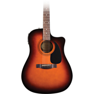 Fender CD-60CE Electro Acoustic Guitar, Sunburst