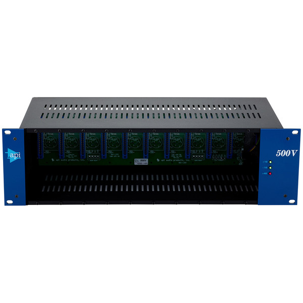 API 500VPR 10 Slot Rack with Power Supply