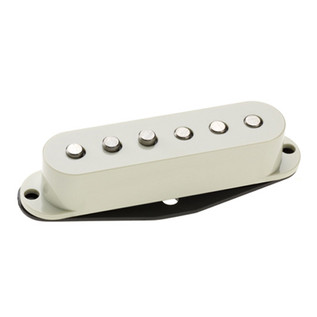 DiMarzio DP420 Virtual Solo Hum Cancelling Strat Pickup, Aged White