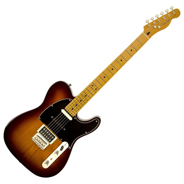 Fender Modern Player Telecaster Plus Electric Guitar, Honey Burst
