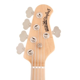 Music Man StingRay-5 Bass Guitar, MN, Natural Ash