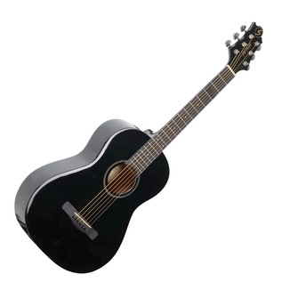 Greg Bennett ST6-1 3/4 Acoustic Guitar, Black