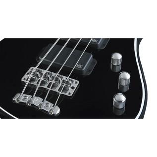Warwick Rockbass Streamer Standard 4-String Bass, Black High Polish