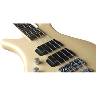 Warwick Rockbass Streamer Standard Left Handed 4-String Bass, Natural