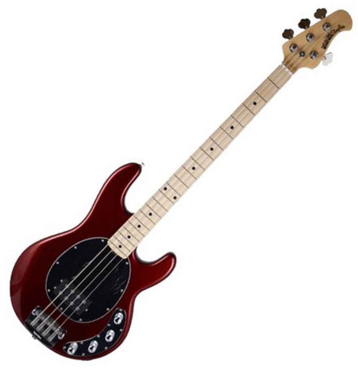 music man stingray 3eq bass guitar mn candy red at gear4music. Black Bedroom Furniture Sets. Home Design Ideas
