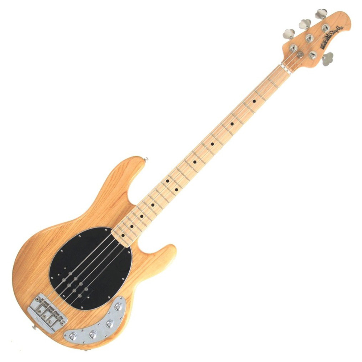 Music Man StingRay 3EQ Bass Guitar, MN, Natural at ...