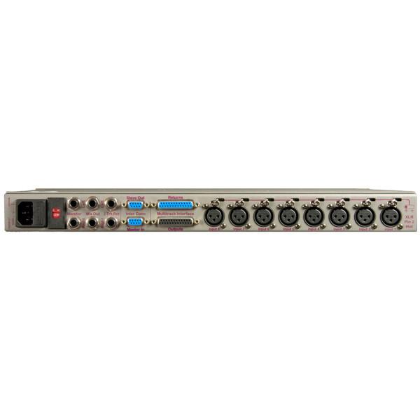 JDK 8MX2 8 x 2 x 8 Mixer/Mic Pre - Rear View