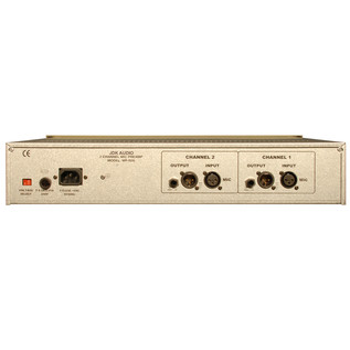 JDK R20 2 Channel Mic Preamp - Rear View