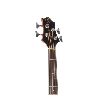 Greg Bennett AB-2 Electro Acoustic Bass Guitar, Natural
