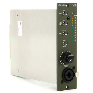JDK V10 Single Channel Mic Preamp - Side View