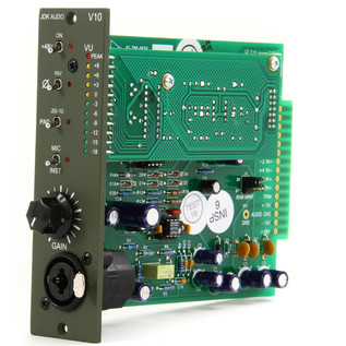 JDK V10 Single Channel Mic Preamp - Internal View