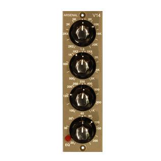 JDK V14 4 Band VPR 500 Format Equalizer