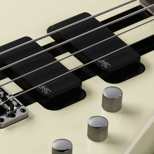 Warwick Rockbass Streamer Standard 4-String Bass, Racing White