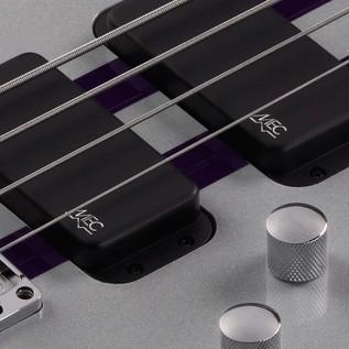 Warwick Rockbass Streamer Standard 4-String Bass, Racing Silver