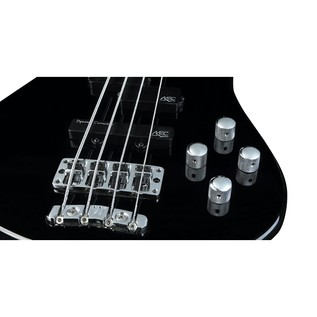 Warwick Rockbass Streamer LX 4-String Bass, Fretless, Black