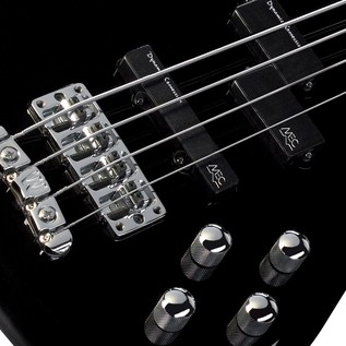Warwick Rockbass Streamer LX 4-String Bass, Black High Polish