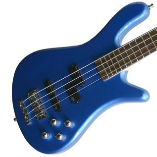 Warwick Rockbass Streamer LX 4-String Bass, Metallic Blue