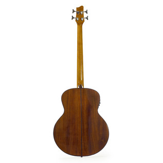 Ozark Solid Electro Acoustic Bass Guitar, Natural